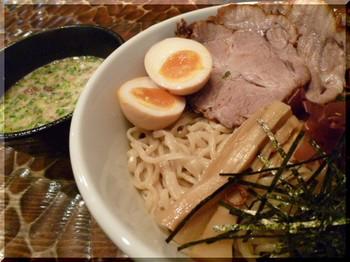 明かり家(厚木)-チャーシューつけ麺2.JPG