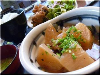 魚炭(厚木)-あら煮と唐揚げ定食2.JPG